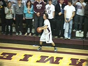 Gillette vs. Laramie Girls Basketball 2012
