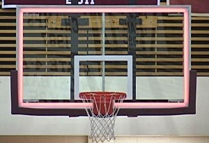 lighted backboard