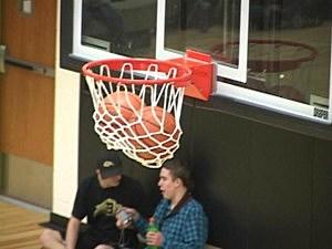 Stuck Basketballs