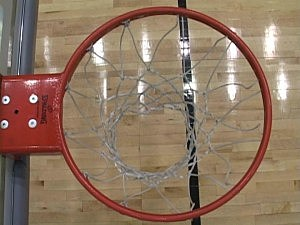 Basketball Rim Above