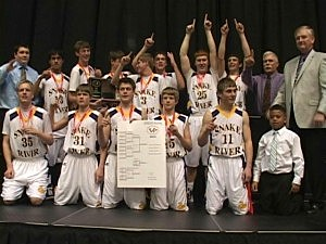 Little Snake River Boys 1A State Basketball Champions