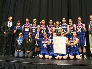 Thermopolis vs. Lovell - Girls Basketball 2A State Champ 2012