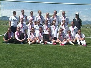 Cody vs. Buffalo - Girls Soccer 3A State Championship 2012