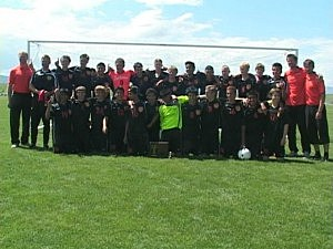 Worland vs. Jackson - Boys Soccer 3A State Championship 2012