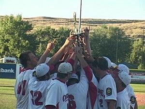 Casper Oilers vs. Cheyenne Post 6 - Legion Baseball State Championship 2012