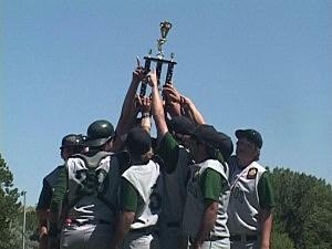 Sheridan Troopers vs. Wheatland Lobos - Legion Baseball State Championship 2012