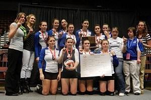 Lovell vs. Big Horn - Volleyball Class 2A State Championship