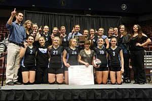 Central vs. East - Volleyball 4A State Championship 2012