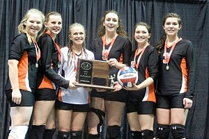 Cokeville vs. Lingle-Ft. Laramie - Volleyball 1A State Championship 2012