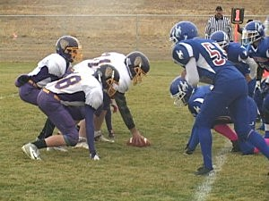 Little Snake River at Kaycee - Football 2012