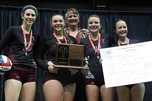 Star Valley vs. Torrington - Volleyball 3A State Championship 2012