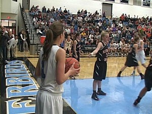 Natrona at Cheyenne East - Girls Basketball 2012