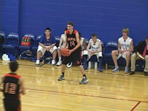 Burlington at Ten Sleep - Boys Basketball 2013