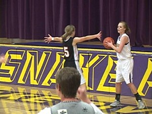 Cokeville at Little Snake River - Girls Basketball 2013
