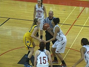 Sheridan at Natrona - Girls Basketball 2013