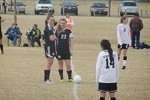 Buffalo vs. Jackson - Girls Soccer 2013