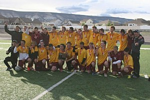 Gillette vs. Laramie - Boys Soccer 4A State Championship 2013