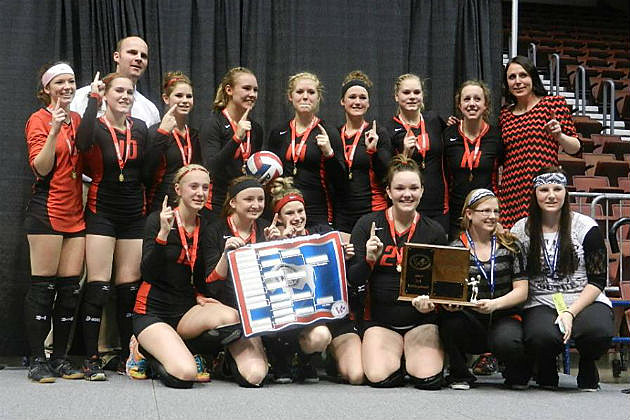Kemmerer Volleyball 2A State Champs