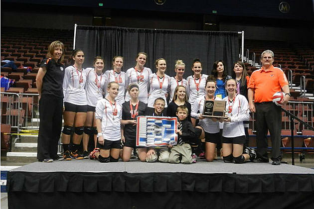 Cokeville Volleyball 1A State Champs
