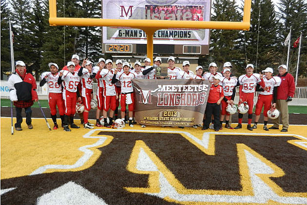 Meeteetse Football 6-Man State Champs 13