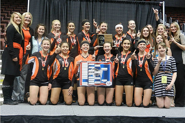Powell Volleyball 2013 State Champs