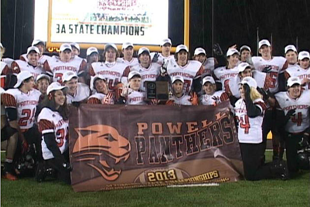 Powell Football 2013 3A State Champs