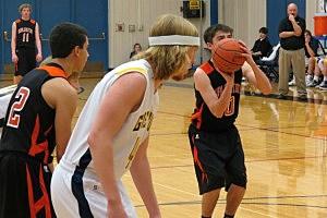 Burlington at Greybull - Boys Basketball 2014