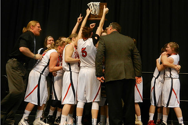 Cokeville vs. Lingle-Ft. Laramie - Girls Basketball State Championship 2014