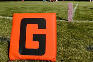 Football Pink Goal Pylon