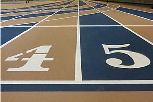 laramie high school indoor track meet