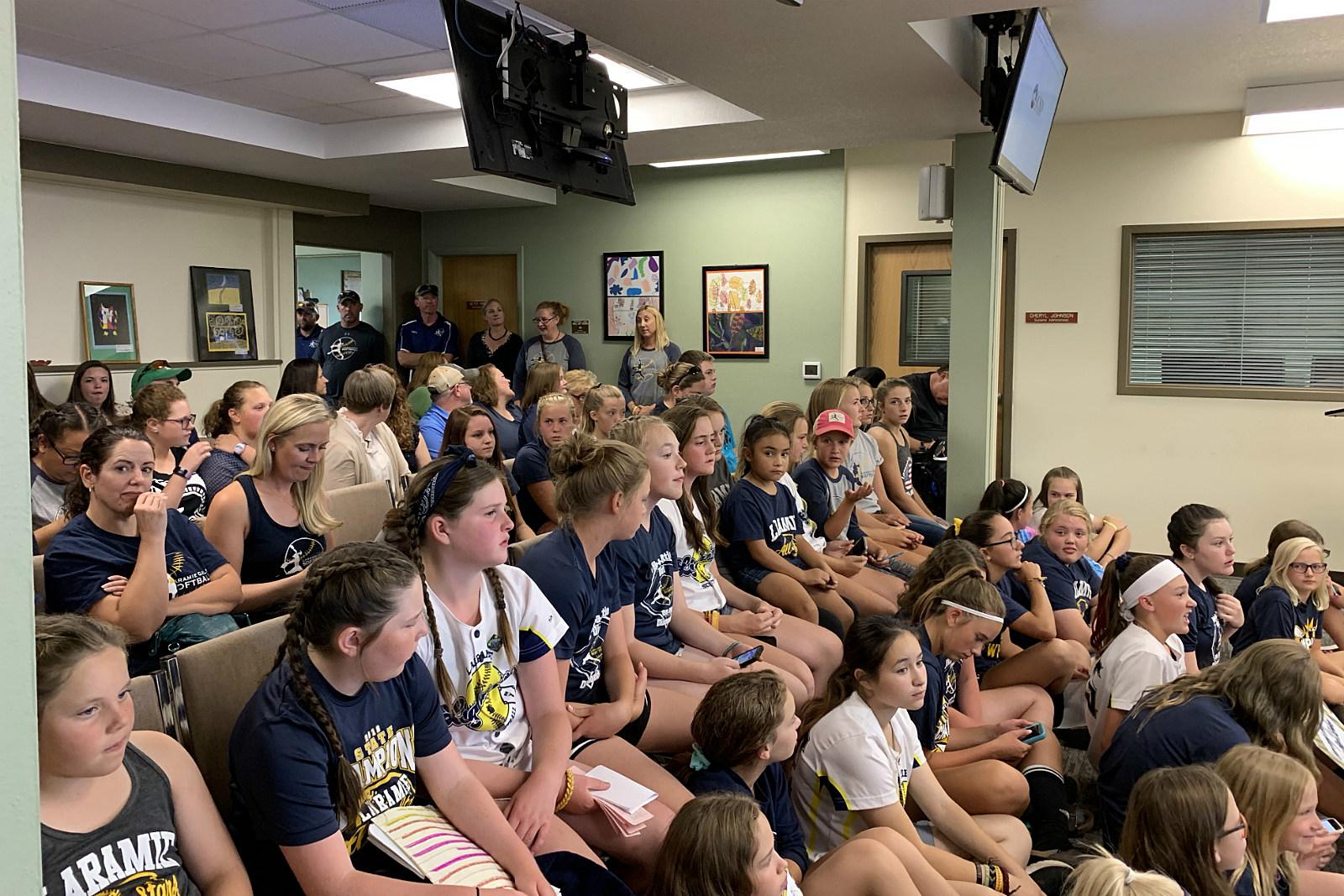 LGS, Softball, School Board, ACSD, Vote, 2019